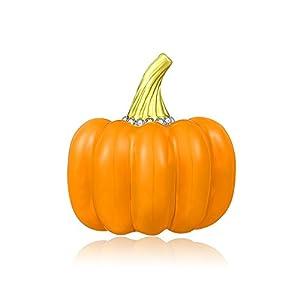 Mytys Pumpkin Brooch Pins Halloween Jewelry Fashion Enamel Pin Gift for Women Girl Kid