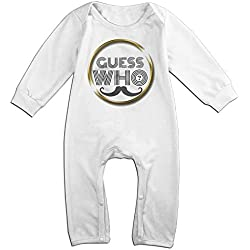 Ahey Babys The Guess Who Long Sleeve Bodysuit Outfits 18 Months