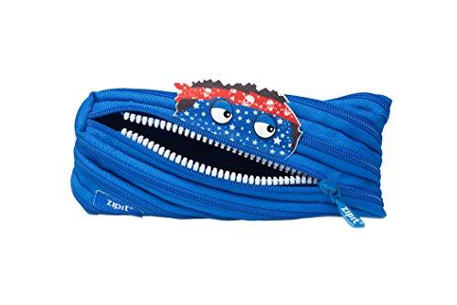 Price comparison product image ZIPIT Talking Monstar Pencil Case, Blue