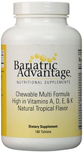 Bariatric Advantage - Multi-Formula Chewable High ADEK - Tropical, 180 Count ()