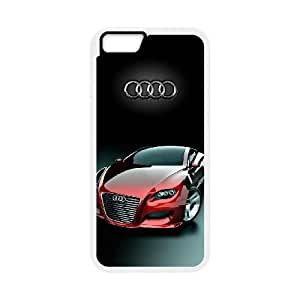 Design Cases iPhone 6 4.7 Inch Cell Phone Case White Audi Ggfis Printed Cover