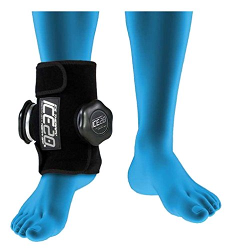ICE20 Ankle Ice Therapy Wrap, Double Ice - Ice Wraps Refillable