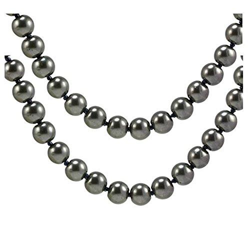 Long Faux Pearl - Wiipu Flapper Long Faux Pearl Glass Bead 58