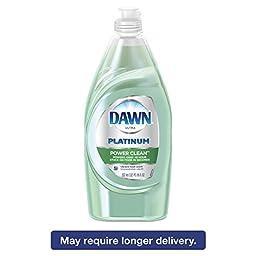 Dawn 91589 Liquid Dish Detergent, Power Clean, Fresh Scent, 18 oz. Bottle (Pack of 10)