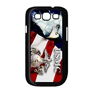EVA Marine Corps Samsung Galaxy S3 I9300 Case,Snap-On Protector Hard Cover for Galaxy S3