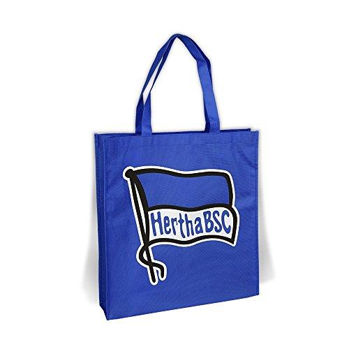 Einkaufstasche Tragetasche Beutel Tasche blau Hertha BSC Berlin