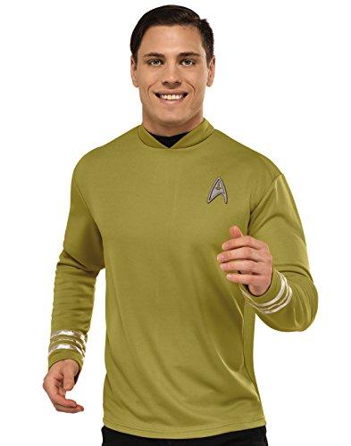 Rubie's Men's Star Trek: Beyond Captain Kirk Deluxe Costume Shirt, Small