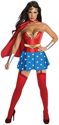 Wonder Woman Costume DC Comics Halloween Fancy Dress