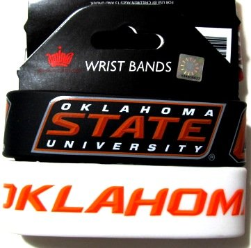 aminco NCAA Oklahoma State Cowboys Silicone Rubber Bracelet, ()