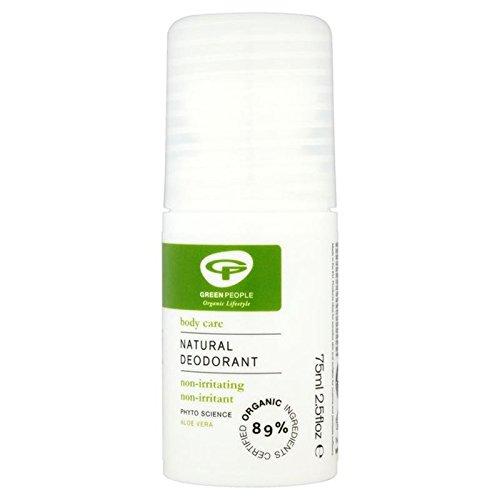Green People Organic Aloe Vera Roll On Deodorant 75ml (PACK OF 4)