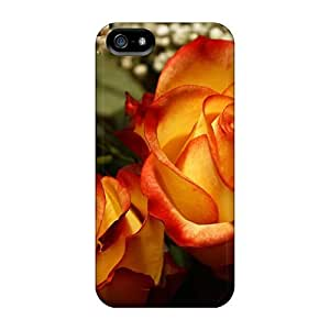 ConnieJCole Design High Quality Perfect Roses Bouquet Cover Case With Excellent Style For Iphone 5/5s
