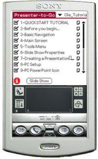 Presenter-to-Go for Sony Clie (Sony Palm Os Handheld Pda)