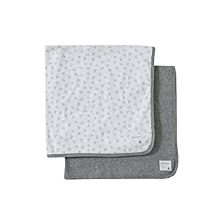Burt's Bees Baby - Baby Blankets, Set of 2 - You'll find endless uses for our super soft 100% organic cotton blankets, from newborn swaddling to days at the park. Softly ribbed cotton holds up beautifully through wash after wash, and the gentle stret...