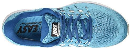 Nike Air Zoom Vomero 12, Scarpe da Corsa Uomo Turchese (Chlorine Blue/Binary Blue)