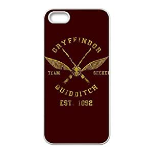 iphone5 5s case , gryffindor quidditch team iphone5 5s Cell phone case White(TPU)SSSD5556785
