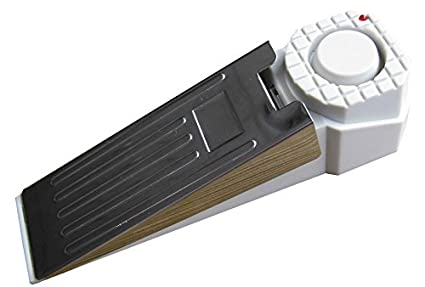 Hercules PS1034 Door Stop Alarm, 110 dB, White