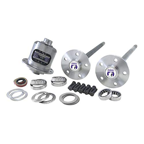 Yukon Gear & Axle (YA FMUST-4-31) 5-Lug Axle Kit with DuraGrip Positraction for Ford Mustang 31-Spline Differential