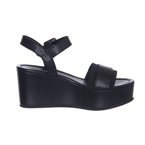 Windsor Smith Women's Joni Black Leather Sandal Black wYvVTzmJ