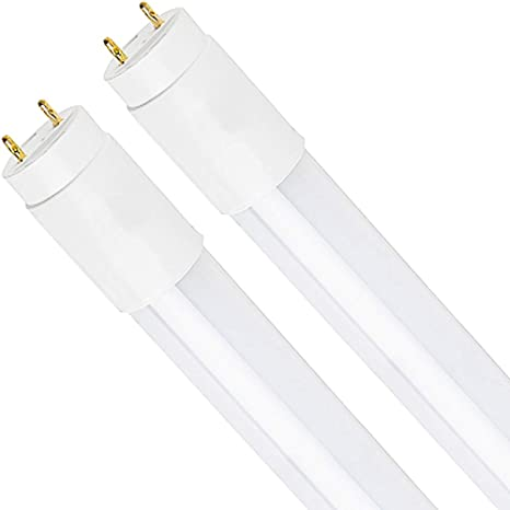 Luxrite 2ft Led Tube Light T8 11w 17w Equivalent 3500k Natural White 1100 Lumens Fluorescent Light Tube Replacement Direct Or Ballast Bypass