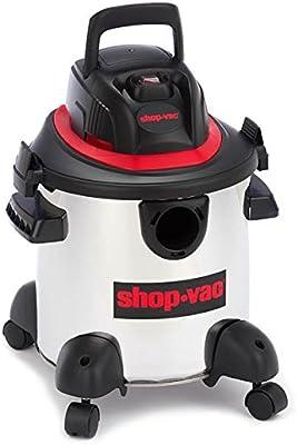 ShopVac Aspirador Mojado/seco de Acero Inoxidable, 16 L, 1100 W, Color Plateado: Amazon.es: Hogar