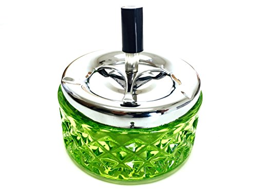glass ashtray vintage - 7