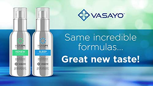 Vasayo Microlife Renew Microgel and Sleep Micromyst Dietary Supplement (Pack of Two) by Vasayo (Image #4)