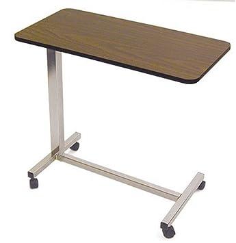 Amazon.com: Duro-Med encima de la cama mesa con ruedas ...