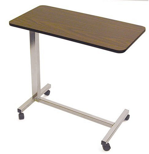 Amazon Com Duro Med Over The Bed Table With Casters Easy Rolling