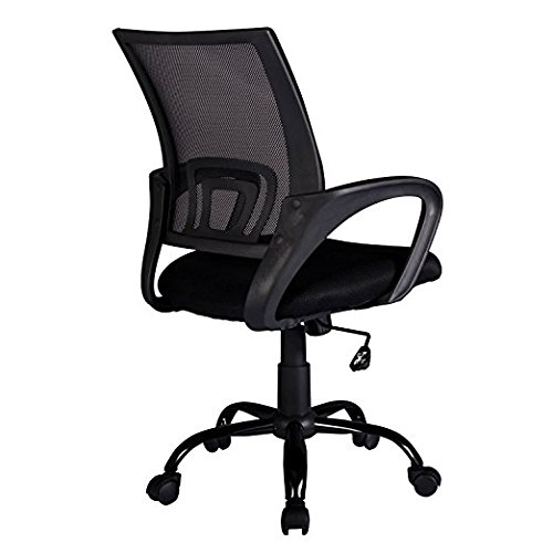 Office Chair Desk Ergonomic Swivel Executive Adjustable Task MidBack Computer Chair with Arm in Home-Office (3) by BestOffice (Image #3)