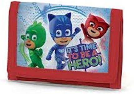 PJ Masks Héroes En Pijamas A95776 Billetera, 13 Centímetros ...