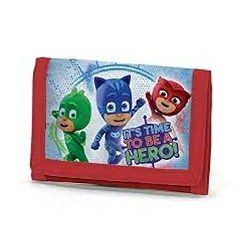 PJ Masks Héroes En Pijamas A95776 Billetera, 13 Centímetros, Multicolor, Gatuno, Buhíta