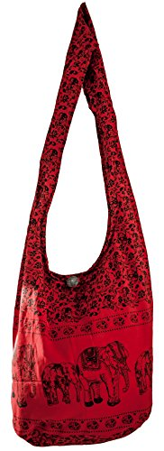 40 Prints Eco Hippie Living Boho Canvas Shopping Body Slouch Cotton Red Friendly Elephant Sling Bag Cross Sustainable daisy Over Hippy Yvzv0p6
