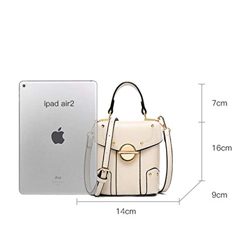 Rivet Vertical Crossbody Bag Crossbody Fashion Plazoleta A Studs A Bag Aosiwei Bag EAfwqx