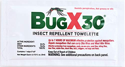 Insect Repellent Towelettes 50