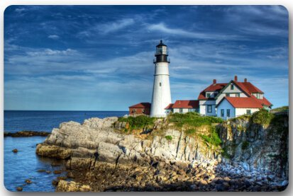 Accent Outdoor Lighthouse Natural (Fandim Fly Lighthouse of the Beach Large Doormat Neoprene Backing Non Slip Indoor Bathroom Kitchen Decor Rug Mat Welcome Doormat 18X30 inch)