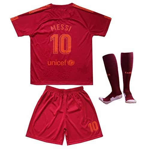 official photos e660f d5867 Da Games Youth Sportswear Barcelona Messi 10 Kids Third ...
