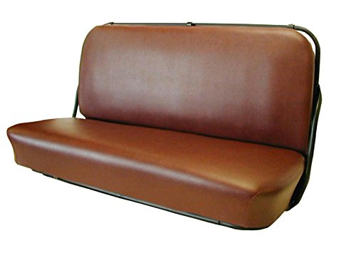 1947-1955 CHEVY TRUCK 1sr Series BROWN SEAT COVER - Heavy Duty Vinal - Color is Accurate - Pliers and Hog Rings Included - Chevrolet ()