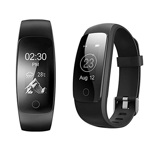 Heart Rate Intelligent Sports Bracelet Smart Bracelet Dynamic Heart Rate Pedometer Call Touch Screen Waterproof Timer Sleep Monitor Call Remind Color Screen Bluetooth Watch