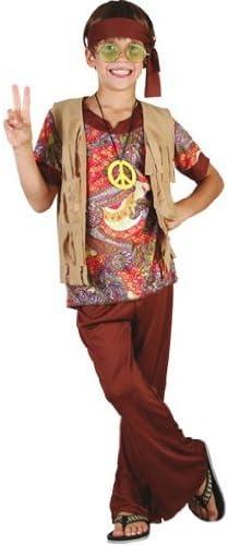 Disfraz de hippie para niño - 7 - 9 años: Amazon.es: Juguetes y juegos