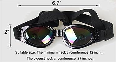 Angker Gafas de sol para perro, gafas para mascotas, gafas ...