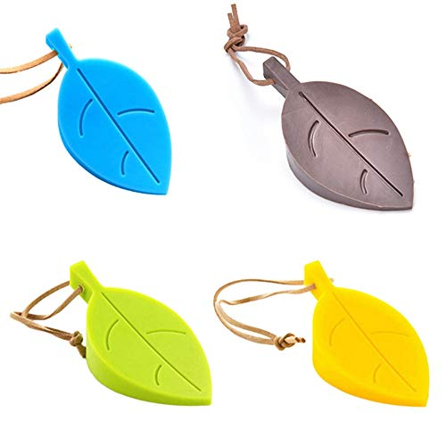 - MOJITO LIVING PTE 1PCS Cute Cartoon Leaf Style door stopper Silicon Doorstop safety for baby Home decoration 3 Colors