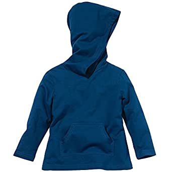 Baby Insect Repellent 100% Cotton Hoodie by Bug Smarties, Navy Blue, Size 2T