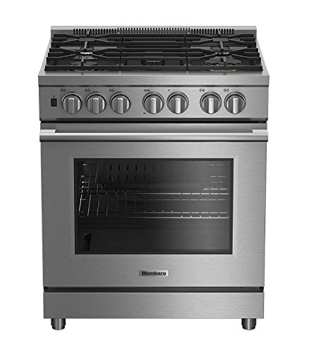 Blomberg BDFP34550SS Pro Dual Fuel Range with 5 Sealed