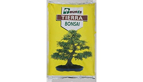 Bures B31370–Soil For Bonsai 3Litres, 35x 25x 4cm, Yellow