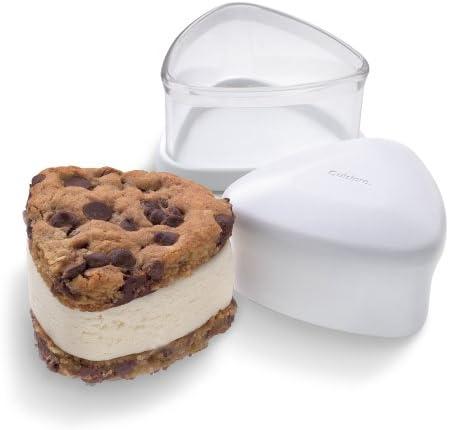 Cuisipro White - Dishwasher safe Ice-Cream Sandwich Maker