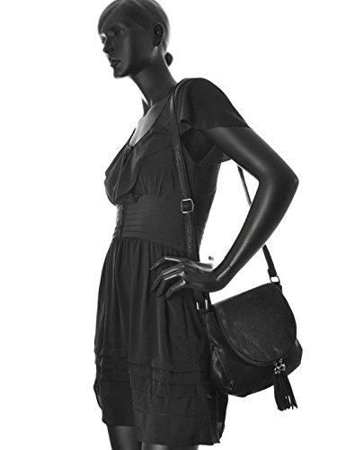 Gallantry - Bolso bandolera mujer, chica negro