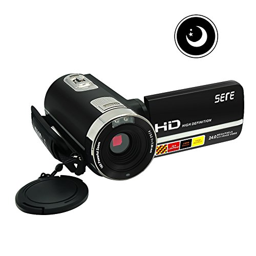 camcorder fhd ir infrared night