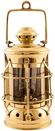 Nautical Lamps – Brass Masthead Lantern – 10.5 – Oil Lantern