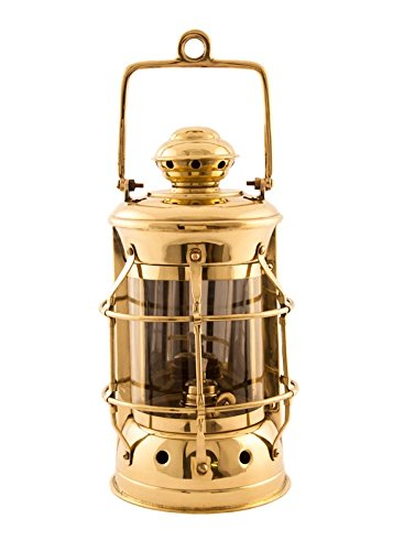 Nautical Lamps - Brass Masthead Lantern - 10.5