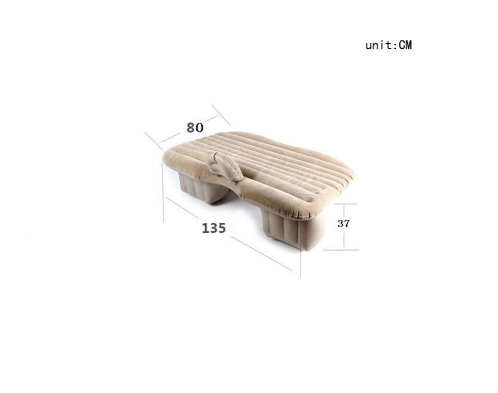 Amazon.com: Colchón hinchable de terciopelo gris para coche ...